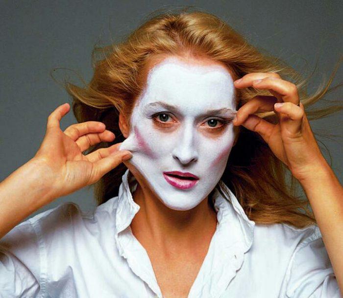 Энни Лейбовиц - портрет Мэрил Стрип.