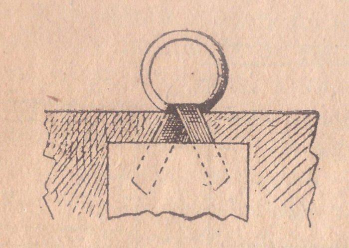 Картонажные работы (Часть 3). Как сделать петлю на карте из картона.