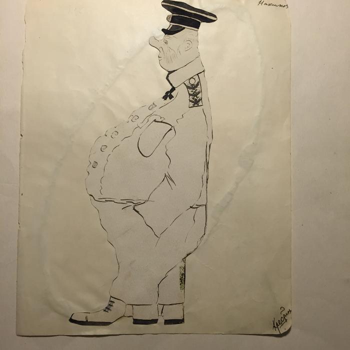 Грузенберг Нахимов Карикатура